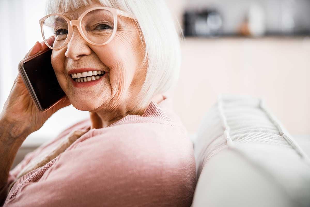 Elderly welfare check
